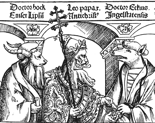 Pope Leo X as antichrist_0